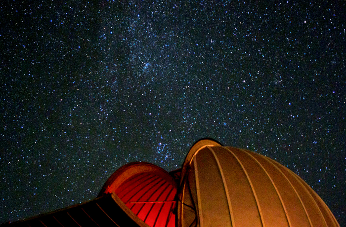 The night sky over Goldendale Observatory Park, Washington. Photo by Troy Carpenter.