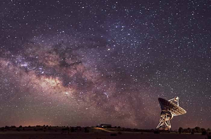 Milky Way and Satellite