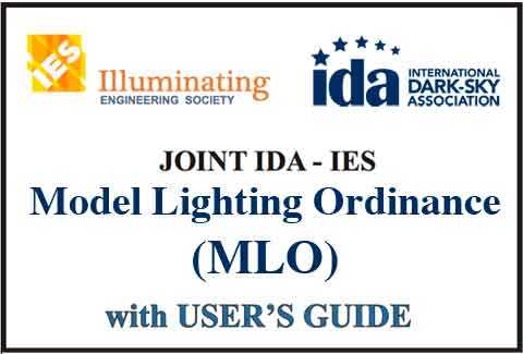 Model Lighting Ordinance Graphic