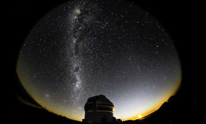 The AURA Observatory in Chile, the world's first International Dark Skies Sanctuary