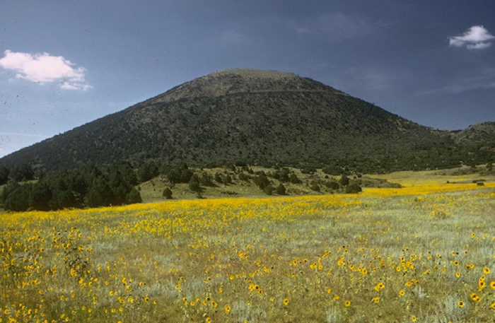 Capulin Volcano National Monument protects an extinct cinder cone volcano.