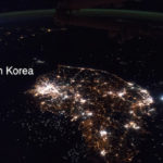 PhotoISS043-E-247811of North and South Korea from the International Space Station ISS.