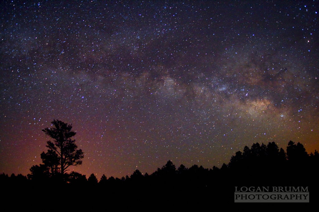 Flagstaff AZ Images at Night Show Success with Years of Dark Sky Advocacy Image