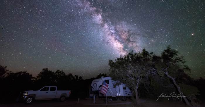 Texas' South Llano River State Park Designated an IDA Dark Sky Park Image