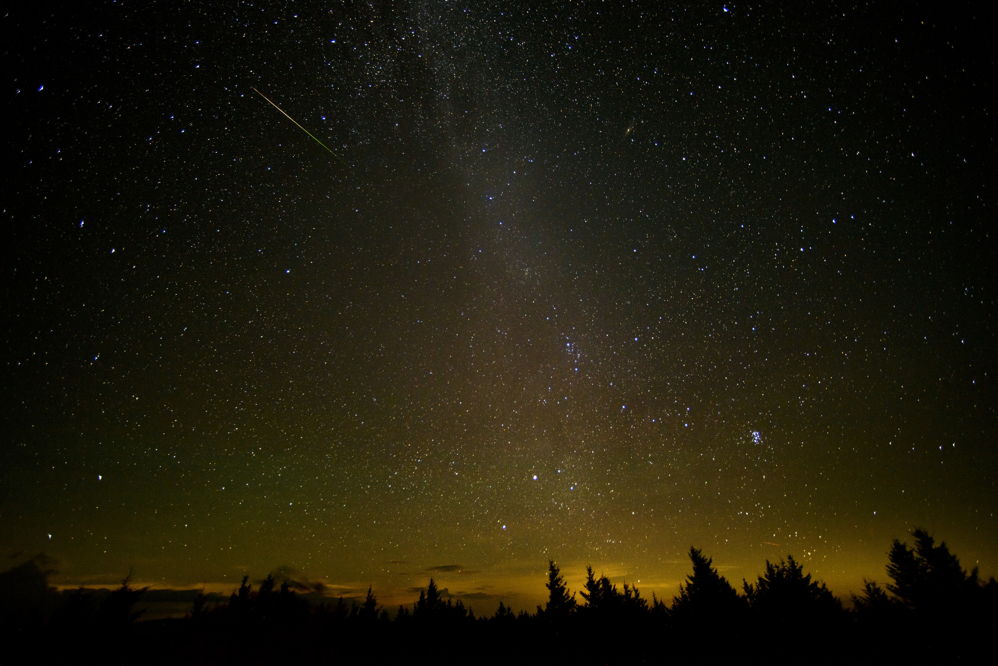 The Night Sky and You: Perseid Meteor Shower & Total/Partial Solar Eclipse Image