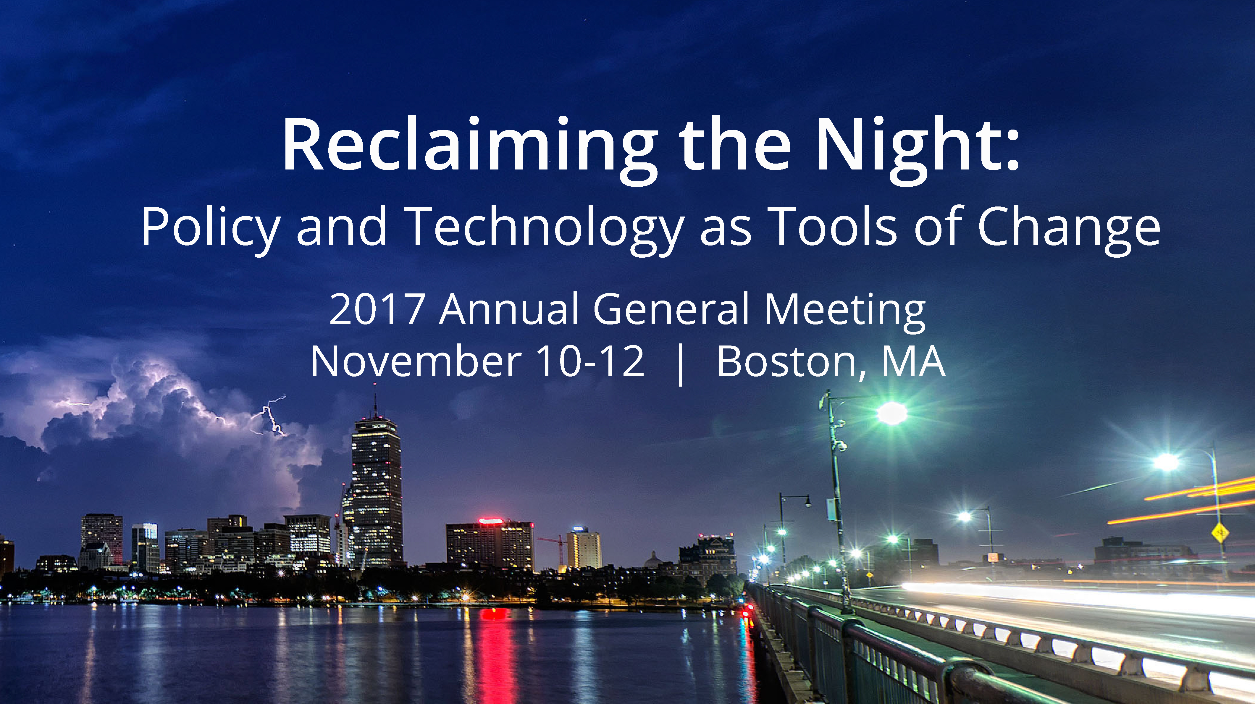 Join us in Boston November 10, 11 & 12 for IDA's 2017 Annual General Meeting Image