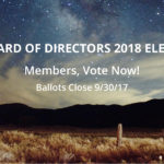 Members! Cast Your Vote for the IDA 2018 Board of Directors Before September 30