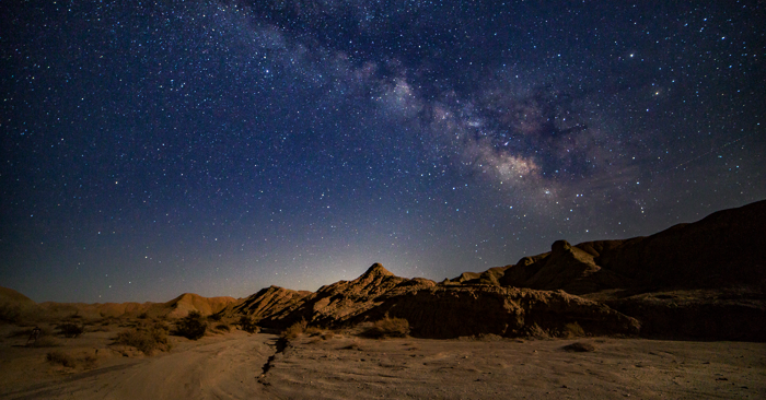 Anza-Borrego Desert State Park Recognized as an International Dark Sky Park Image