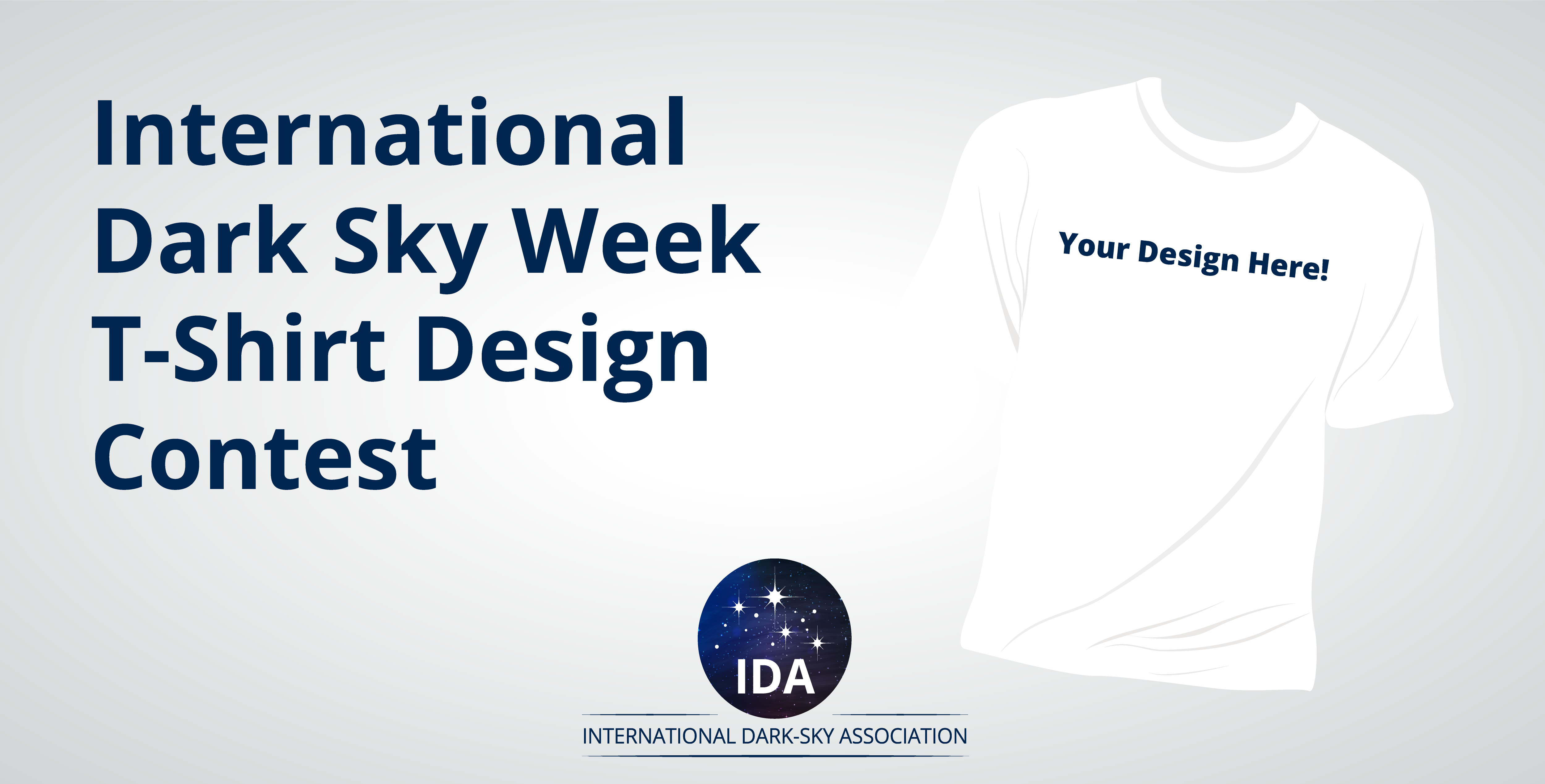 International Dark Sky Week T-Shirt Design Contest Image