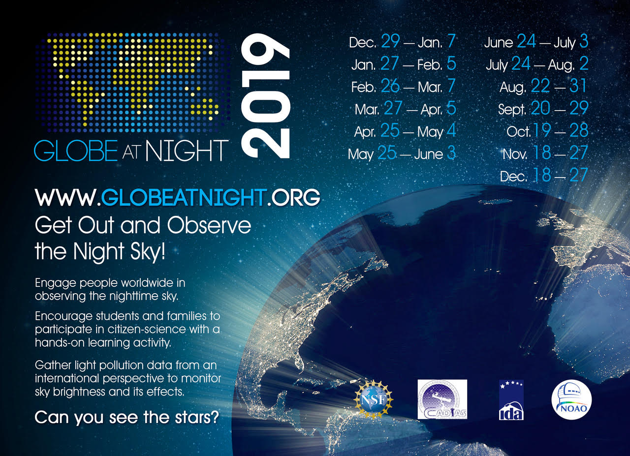 2019 Globe at Night Image
