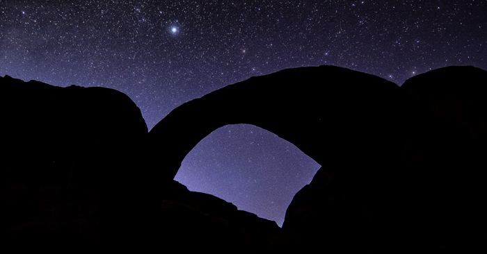 Rainbow Bridge National Monument Designated World's 4th International Dark Sky Sanctuary Image