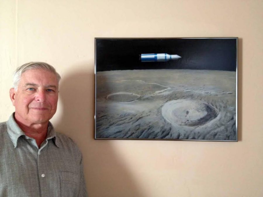"""""""The Father of Modern Space Art"""" Inspired a Lifelong Love of Night Skies Image"""
