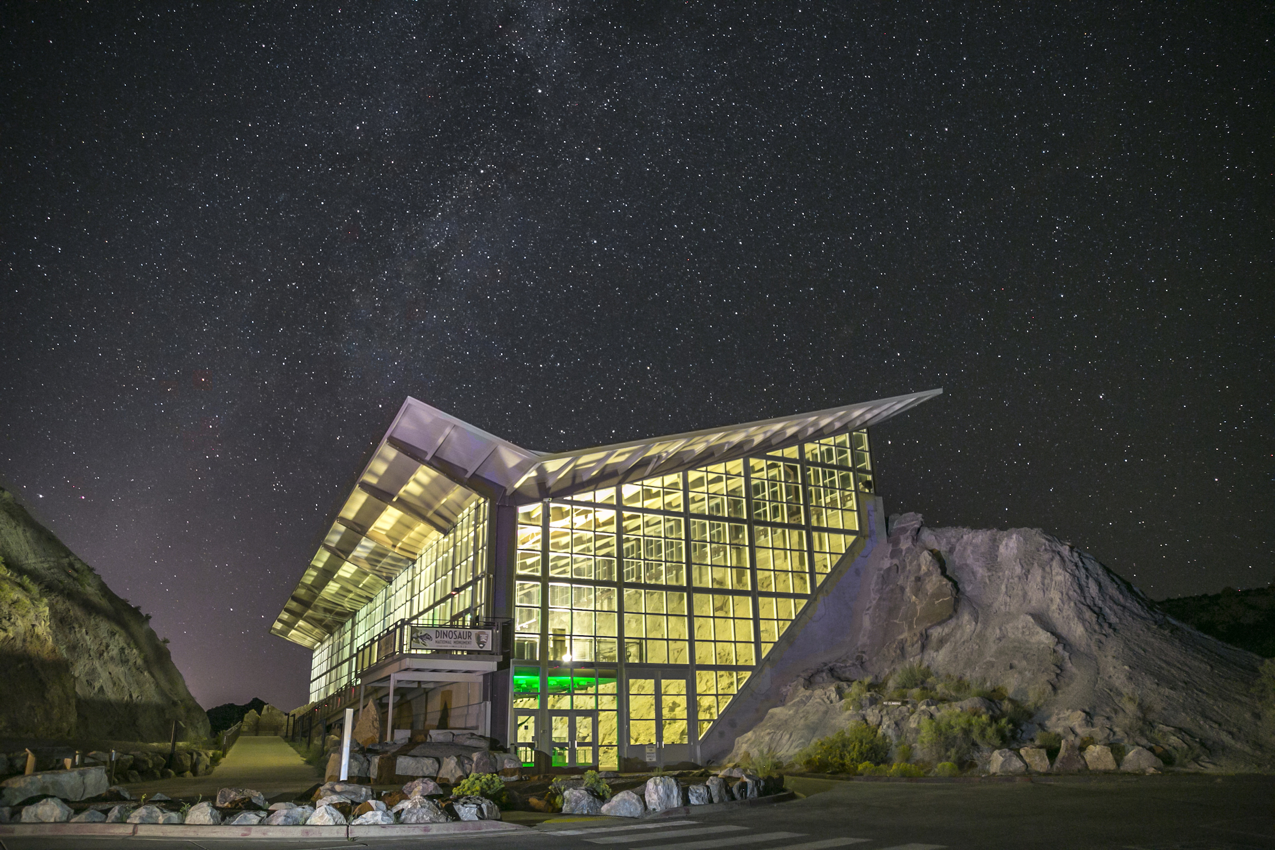 Dinosaur National Monument Designated as an International Dark Sky Park Image