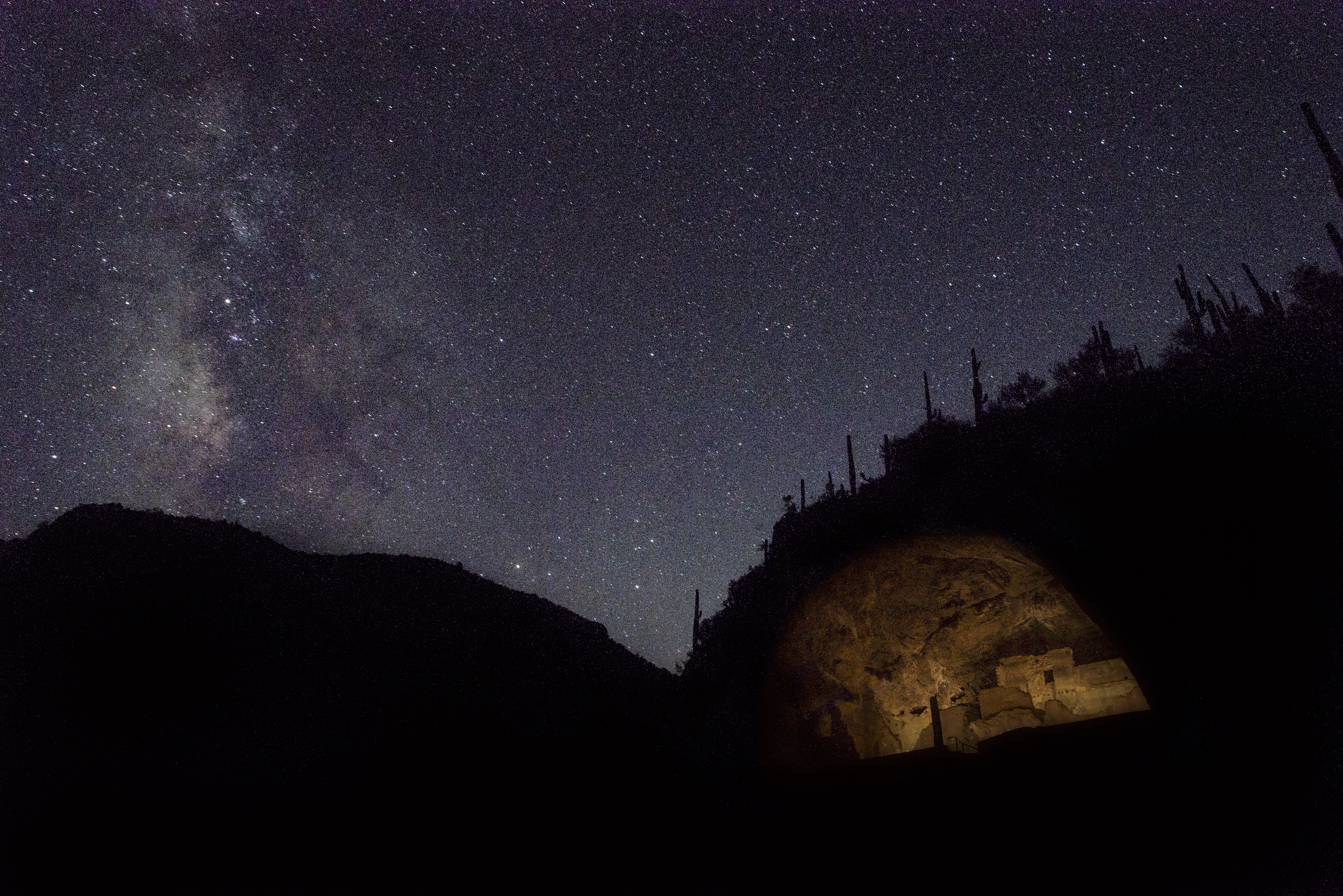 Tonto National Monument Designated as International Dark Sky Park Image