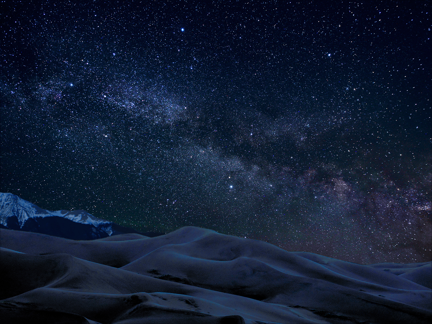 Great Sand Dunes Designated as International Dark Sky Park Image
