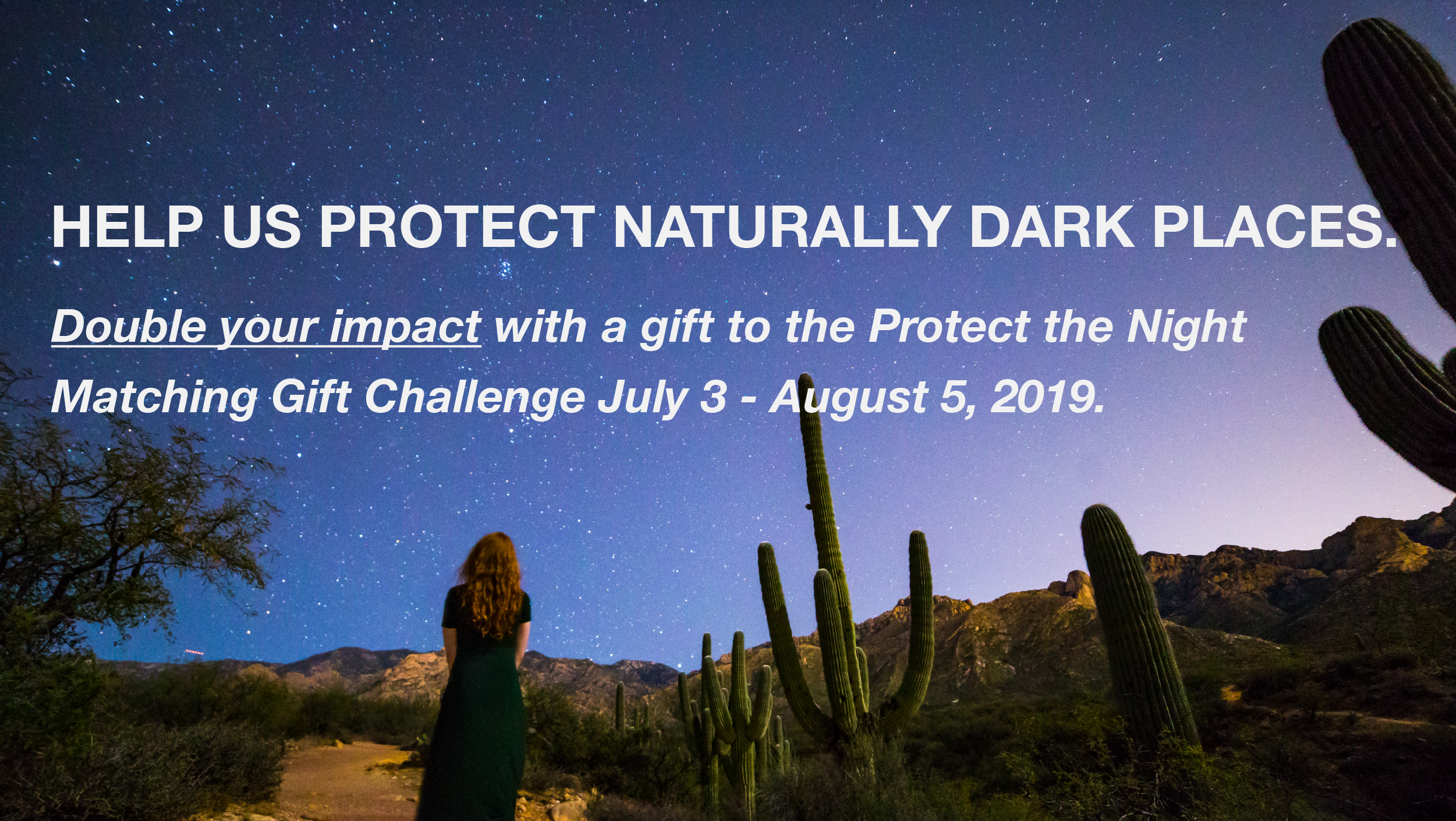 Protect the Night and Double Your Impact! Image
