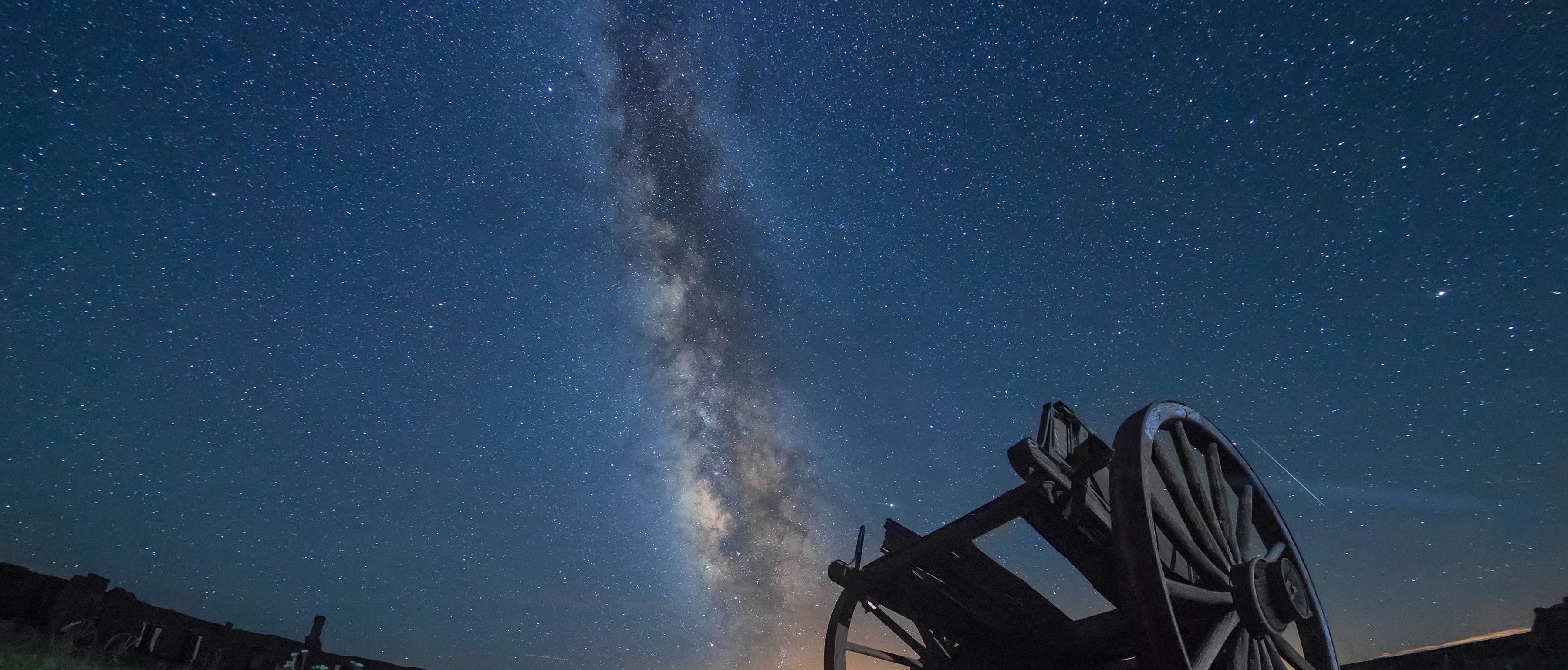 Fort Union National Monument Certified as an International Dark Sky Park Image