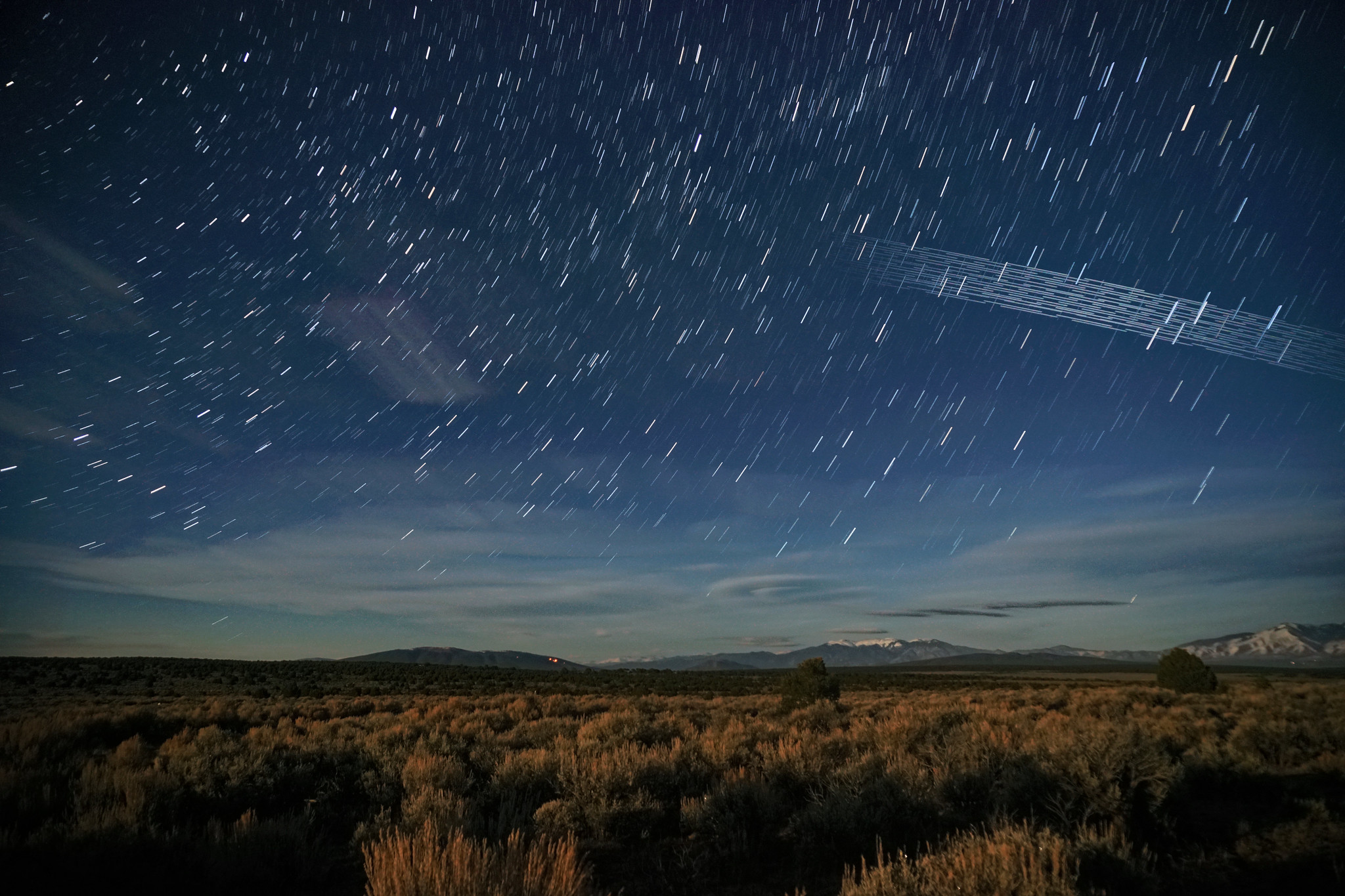 Satellite Megaconstellations and the Night Sky Image
