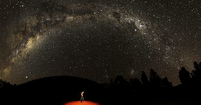First International Dark Sky Park In New Zealand Accredited Image