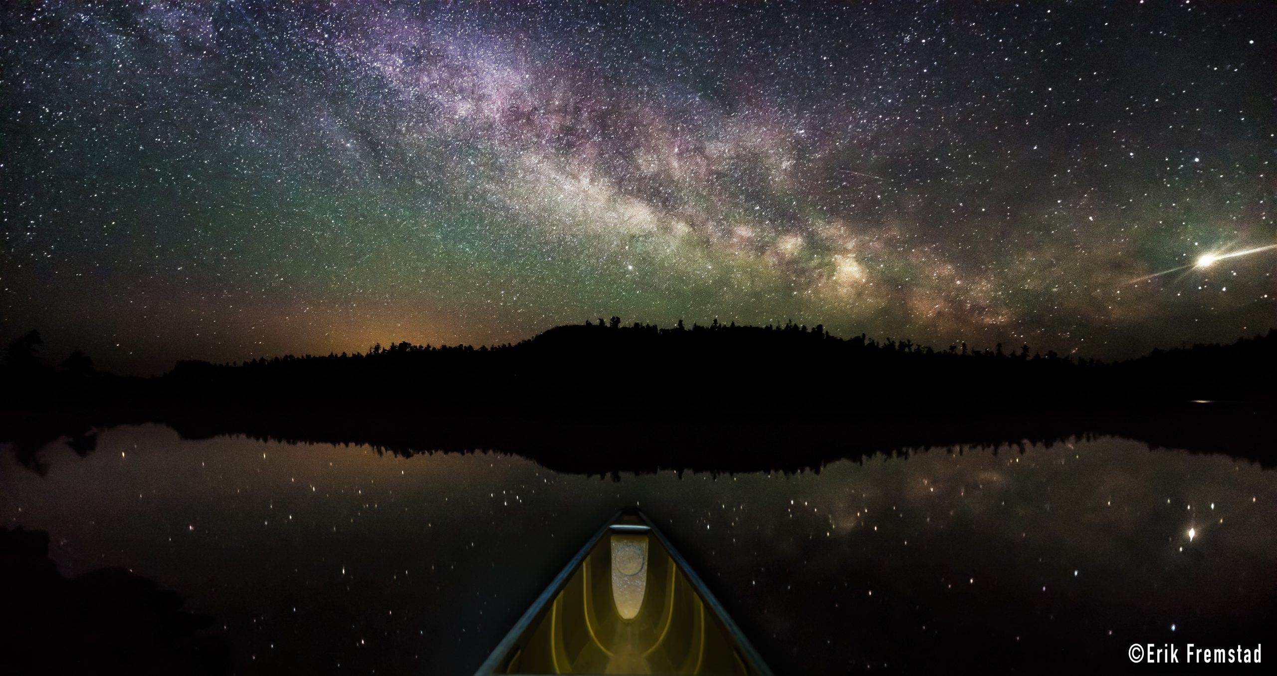 Boundary Waters Canoe Area Wilderness Named the Largest Dark Sky Sanctuary Image