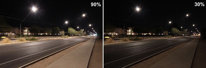 Experiment uses smart city lighting to measure streetlight emissions Image