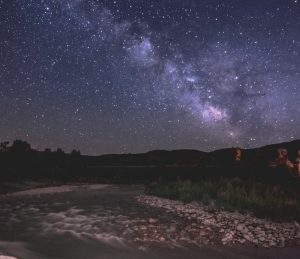 Milky Way over Rock Cliff Nature Area at Jordanelle State Park Photo by Utah State Park