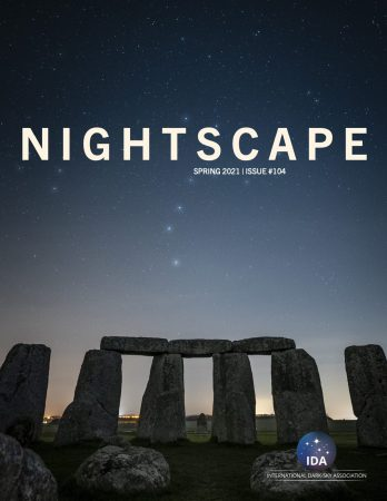 Cover of Nightscape Spring 2021